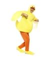 Eend verkleedkleding voor volwassenen One size Geel