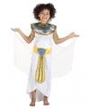 Egyptische godin jurk voor meisjes 4-6 jaar Multi