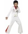 Elvis pak voor kinderen 130-143 (7-9 jaar) Wit