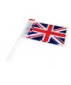Engelse vlag  zwaaivlaggetjes 10 st