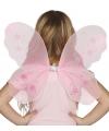 Roze vleugels voor kinderen