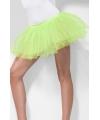 Fel groene petticoat voor dames S/M Groen