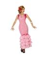Flamenco danseres jurk roze voor dames XS/S (34-36) Roze