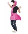 Flamingo kostuum voor volwassenen One size Roze