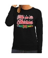 Foute kerst sweater zwart Take Me Its Christmas dames L (40) Zwart