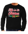 Foute kerst sweater zwart Take Me Its Christmas heren S (48) Zwart