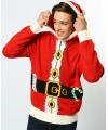 Foute kerstman kersttrui XS Rood