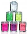 Fuchsia UV make up glitters