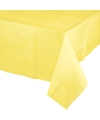 Tafelkleden geel 274 x 137 cm