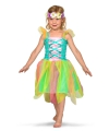 Gekleurd feeen kostuum voor meisjes 3-5 jaar Multi