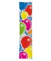 Gekleurde banner ballonnen