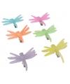 Libelle haarclip in zomerse kleuren