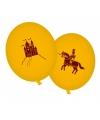 Draken en ridders versiering ballonnen