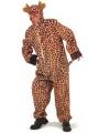 Giraffe verkleedkleding 58-60 (2XL/3XL) Bruin