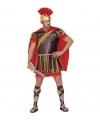 Gladiator kostuums rood-bruin heren