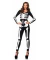 Leg Avenue glow in the dark skelet catsuit