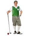 Golfer verkleedkleding 52 (L) Multi