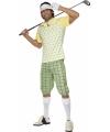 Golfers kostuum heren M Multi