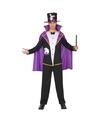 Goochelaar carnaval kostuum voor volwassenen M/L Multi