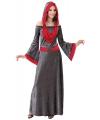 Gothic Maiden jurk voor dames M Multi