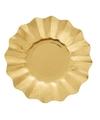 Gouden diepe wegwerp bordjes 27 cm