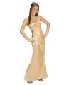 Gouden gala jurk voor dames