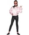 Grease jasje voor meisjes 122-134 (6-8 jaar) Roze