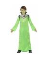 Groene alien koning Zharor verkleedkleding voor jongens 116 (5-6 jaar) Groen