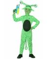 Groene alien kostuum kind 104 (3-4 jaar) Groen