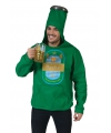 Groene bierfles pak