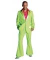 Groene colbert en broek voor heren 52-54 (M) Groen