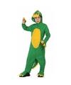 Groene dinosaurus Rex verkleedkleding voor jongens 128 (7-9 jaar) Groen