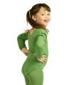 Groene kinderbody