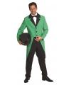 Verkleedkleding jas groen