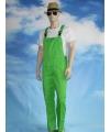 Groene tuinbroek voor dames en heren S (36/48) Groen