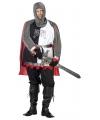 Grote maat middeleeuws ridder kostuum 56 (2XL) Multi