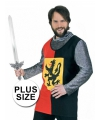 Grote maat ridder overal 56 (2XL) Multi