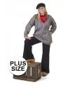 Grote maten verkleedkleding boeren kiel 60 (4XL) Multi