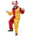 Halloween horror clown kostuum S Multi