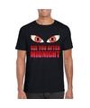 Halloween vampier shirt zwart heren See you after midnight 2XL Zwart