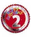 2 jaar helium ballon