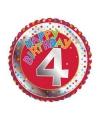 4 jaar helium ballon