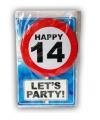 Verjaardagskaart 14 jaar