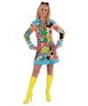 Verkleedkleding Hippie jurk dames