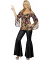 Hippie outfit voor dames L (44-46) Multi