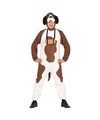 Honden kostuum st Bernard voor volwassenen M (48-50) Multi