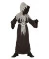Horror monnik kostuum voor kinderen 4-6 jaar Zwart
