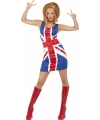 Jaren 90 Spice Girls kostuums 40-42 (M) Multi