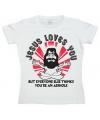 Funny shirt Jesus Loves You dames