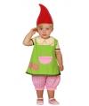 Kabouter kostuum voor peuters 12-24 maanden Multi